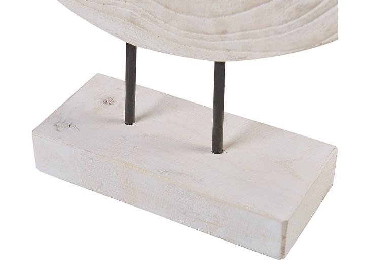 Świecznik jasne drewno paulowni 2 podgrzewacze na stojaku ręcznie wykonany naturalny rustykalny Kategoria Świeczniki i świece