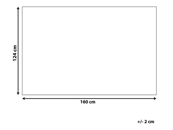 Koc szary bawełniany z frędzlami prostokątny 124 x 160 cm narzuta na łóżko dekoracja Bawełna 124x160 cm Pomieszczenie Salon