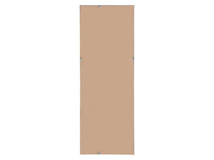Lustro ścienne wiszące szare 50 x 140 cm Prostokątne Lustro z ramą Styl Nowoczesny