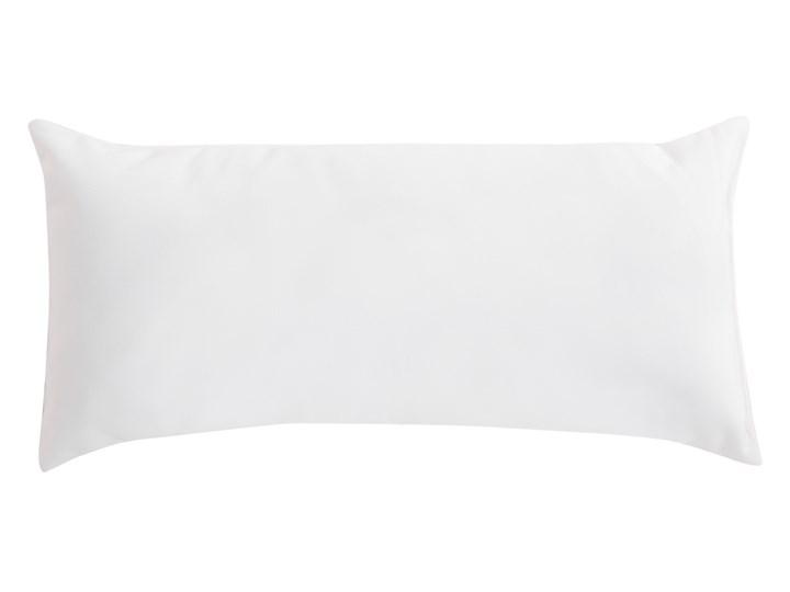Leżak ogrodowy biały drewno modrzewiowe 2-osobowy zadaszony nowoczesny Kategoria Leżaki ogrodowe Kolor Brązowy