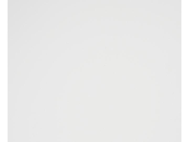 Biurko białe na drewnianych nóżkach 120 x 70 cm z szufladami styl skandynawski Biurko komputerowe Szerokość 120 cm Drewno Płyta MDF Pomieszczenie Biuro