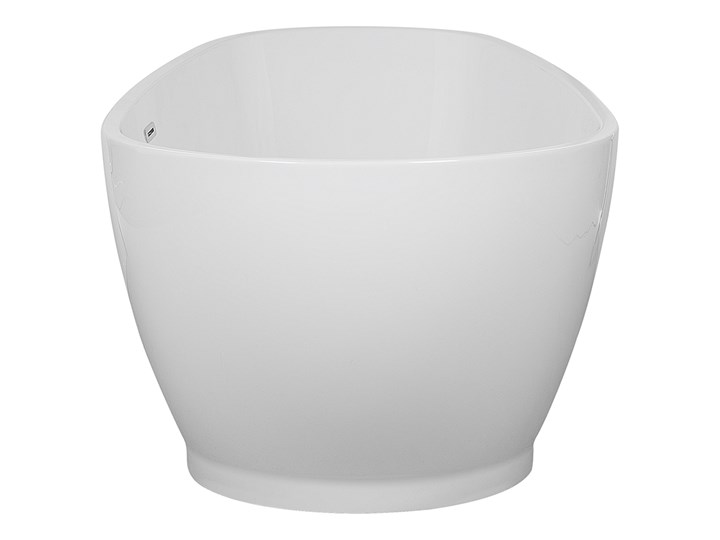 Wanna wolnostojąca biała akrylowa 167 x 82 cm owalna Długość 173 cm Wolnostojące Kolor Biały