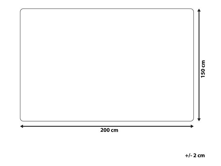 Koc beżowy poliester 150 x 200 cm narzuta materiałowa minimalistyczna nowoczesny design gruba 150x200 cm Pomieszczenie Salon