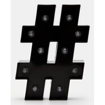 Sinsay - Znak dekoracyjny - Czarny
