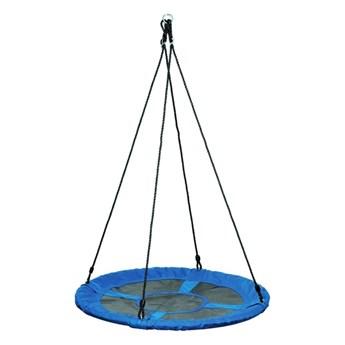 Huśtawka bociane gniazdo Jumi śr. 100 cm niebieska