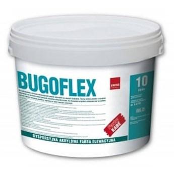 Bugoflex Farba elewacyjna akrylowa biała 10L