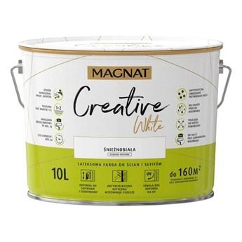 Farba lateksowa Creative White 10l Magnat
