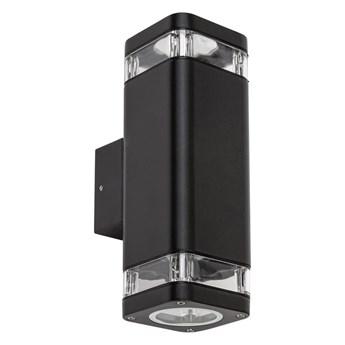 Rabalux - Kinkiet zewnętrzny 2xGU10/25W/230V IP44 czarny