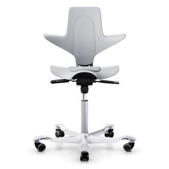 HÅG - Capisco Puls 8010 - Szary - Designerski i Ergonomiczny Fotel Biurowy do Domu