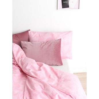 Sinsay - Komplet pościeli z bawełny 160x200cm - Różowy