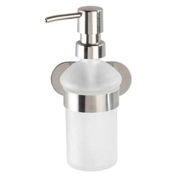 Ścienny dozownik do mydła w kolorze srebra Wenko Orea