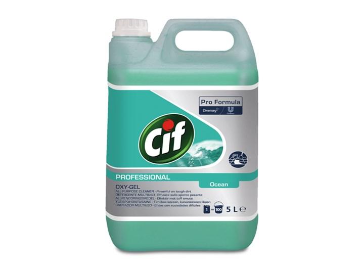Płyn do mycia Cif Professional Oxygel Ocean 5L Podłogi Kategoria Środki czystości Łazienka Zastosowanie