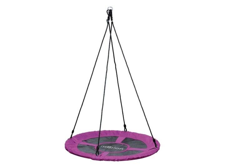 Huśtawka bociane gniazdo Jumi śr. 100 cm różowa Metal Bocianie gniazdo Poliester Kategoria Huśtawki dla dzieci
