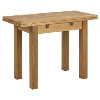 Mały stół fornirowany z funkcją rozkładania Lages