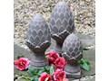 SZYSZKA DEKORACYJNA CERAMICZNA WYBIERZ ROZMIAR  PINE CONE 14 x 33 cm Ceramika Kategoria Figury i rzeźby