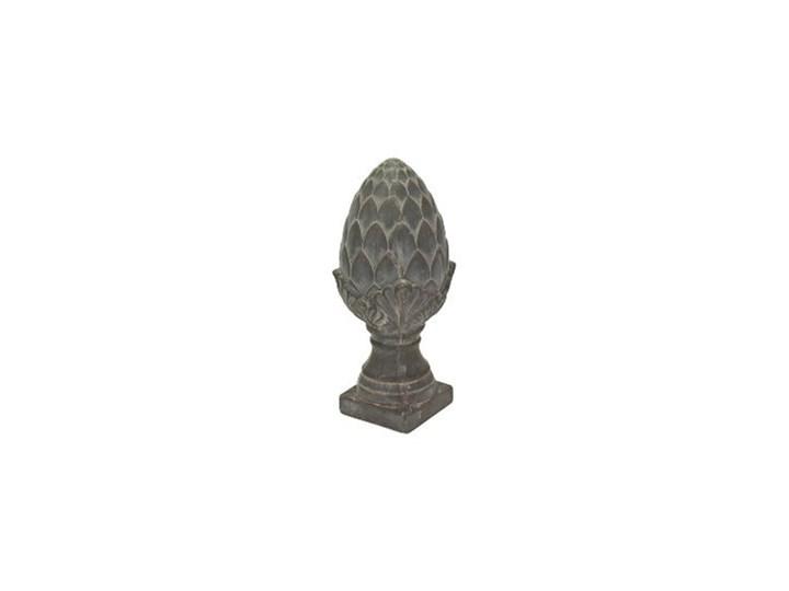 SZYSZKA DEKORACYJNA CERAMICZNA WYBIERZ ROZMIAR  PINE CONE 14 x 33 cm Kategoria Figury i rzeźby Ceramika Kolor Szary