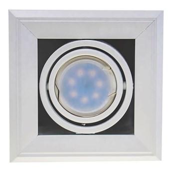Lampa podtynkowa Blocco biały 1x7W GU10 LED