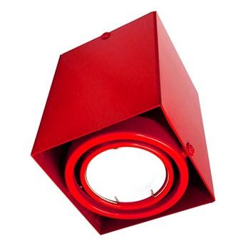 Lampa sufitowa Blocco czerw 1x7W GU10 LED