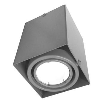 Lampa sufitowa Blocco szary 1x7W GU10 LED