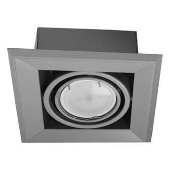 Lampa podtynkowa Blocco szara 1x7W GU10 LED