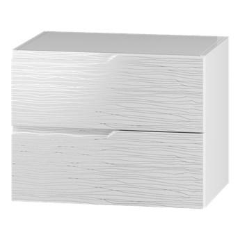 Szafka pod umywalkę NICEA NC02 biały hologram
