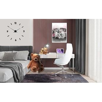 Lamele Pastel 3D – pionowe panele dekoracyjne 3 D MAT – 240 cm – 5 dekorów - uniwersalny  - LM021 - Kawowy róż