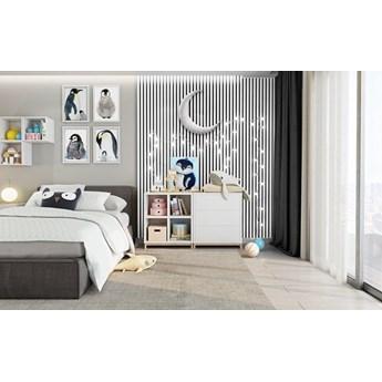 Lamele Pastel 3D – pionowe panele dekoracyjne 3 D MAT – 240 cm – 5 dekorów - uniwersalny  - LM008 - Arktyczna biel