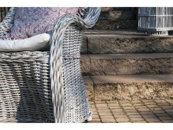Meble na balkon VERSAILLES naturalne Wiszące Rattan Wiklina Metal Aluminium Technorattan Kategoria Fotele ogrodowe