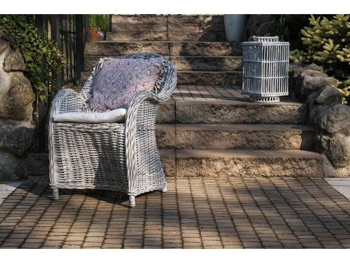 Meble na balkon VERSAILLES naturalne Wiklina Metal Aluminium Wiszące Technorattan Rattan Kategoria Fotele ogrodowe