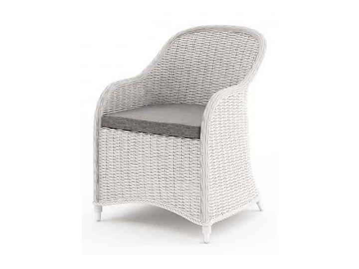 Meble ogrodowe LEONARDO royal białe Tworzywo sztuczne Zestawy wypoczynkowe Aluminium Technorattan Zawartość zestawu Sofa Kolor Biały