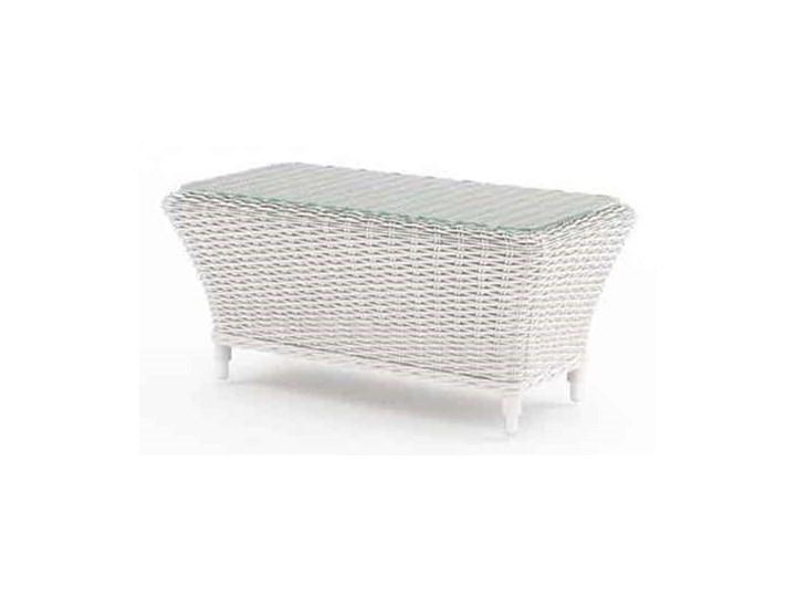 Meble ogrodowe LEONARDO royal białe Tworzywo sztuczne Zestawy wypoczynkowe Aluminium Technorattan Zawartość zestawu Fotele