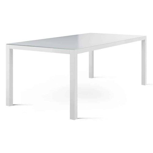 Stół ogrodowy OVIEDO biały