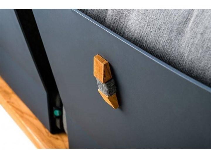 Zestaw wypoczynkowy do ogrodu NARDO II antracyt Kategoria Zestawy mebli ogrodowych Drewno Zestawy wypoczynkowe Aluminium Kolor Czarny