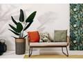 Beżowe meble ogrodowe ze sztucznego rattanu Le Bonom Vistdal Zestawy wypoczynkowe Tworzywo sztuczne Stoły z krzesłami Stal Zawartość zestawu Sofa