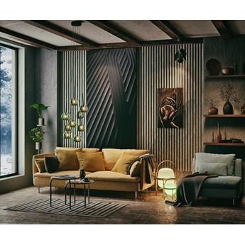 Lamele Premium 3D - Panele dekoracyjne - 240 cm - 18 dekorów - uniwersalny  - LM001 - Jesion Capri