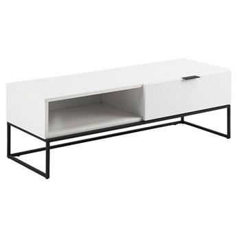 Biała szafka pod telewizor - Pikon 2X