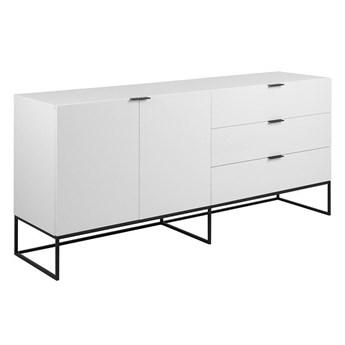 Biała komoda skandynawska z szufladami - Pikon 7X