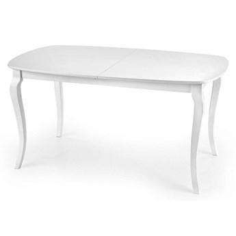 Rozkładany elegancki stół Reval - biały