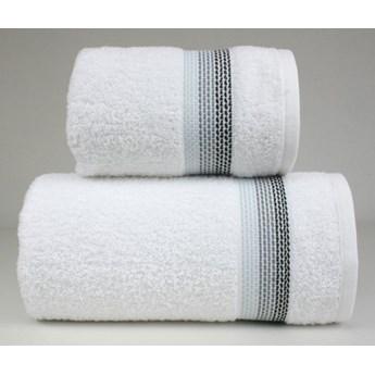 Komplet ręczników na prezent Frotex Ombre Biały