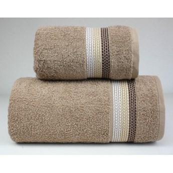 Komplet ręczników na prezent Frotex Ombre Beżowy