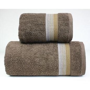 Komplet ręczników na prezent Frotex Ombre Brązowy