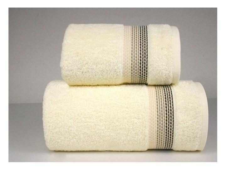 Komplet ręczników na prezent Frotex Ombre Kremowy Beżowy Bawełna Frotte Kategoria Ręczniki