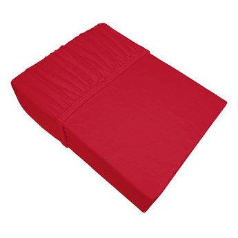 Prześcieradło Jersey Bielbaw Czerwone (067)