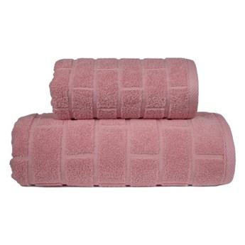 Ręcznik Greno Brick Różany