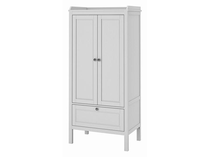 IKEA SUNDVIK Szafa, Szary, 80x50x171 cm Ilość drzwi Dwudrzwiowe Tworzywo sztuczne Głębokość 50 cm Plastik Szerokość 80 cm Drewno Pomieszczenie Pokój przedszkolaka