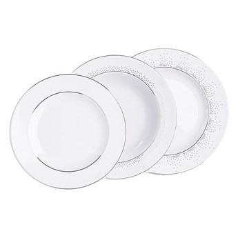 Zestaw obiadowy dla 6 osób porcelana MariaPaula Snow (18 elementów)