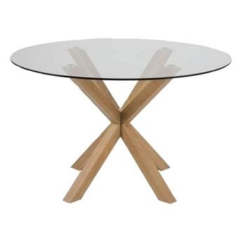 Okrągły stół szklany - Baros 4X