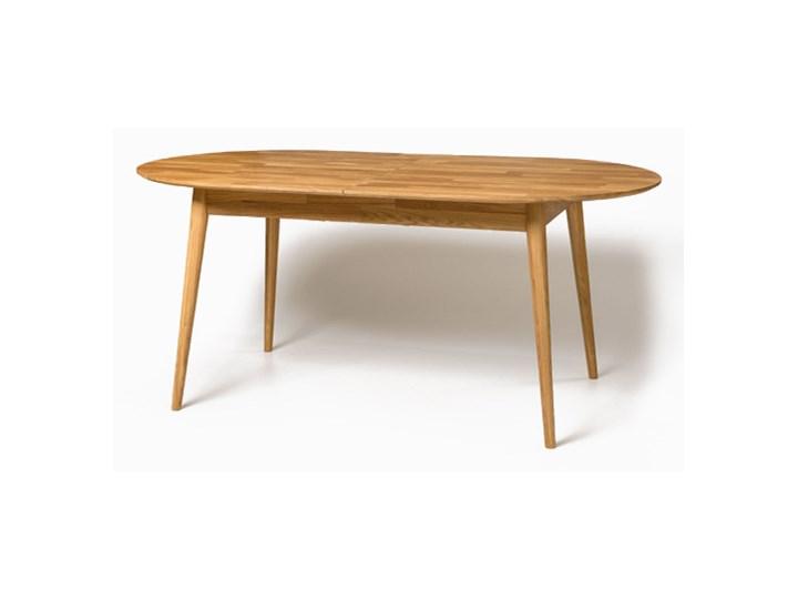 Stół Drewniany, Dębowy Owalny Rozkładany Fabio