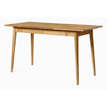 Stół Drewniany, Dębowy Kuchenny Fabio z Szufladami
