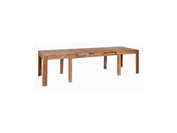 Stół dębowy rozkładany Duplex Szerokość 90 cm Drewno Długość 280 cm Długość 160 cm  Kształt blatu Prostokątny